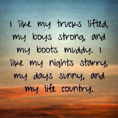 Country Quotes Life Quotes